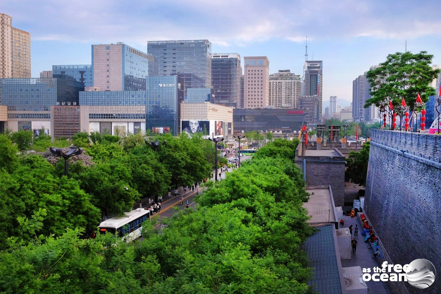 Xi'an - the former capital of China – Free as the Ocean