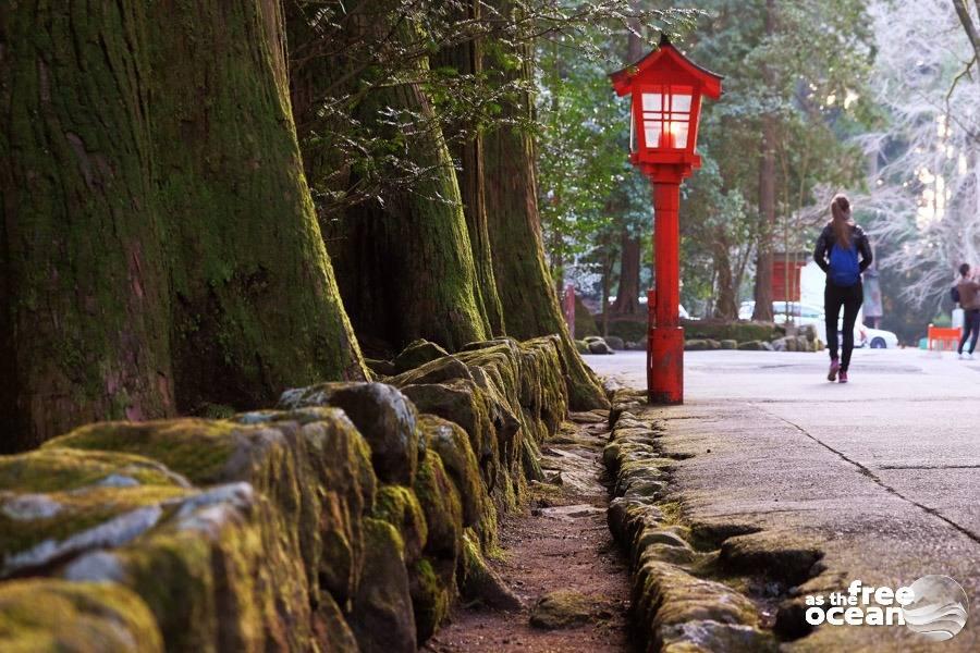 LAKE ASHI JAPAN