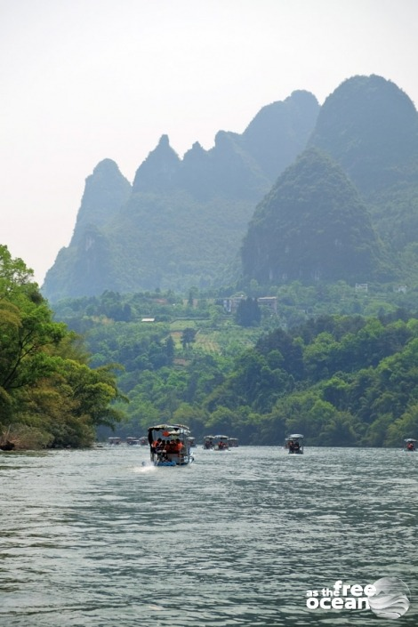 GUILIN LI RIVER AND THE YANGSHUO REGION
