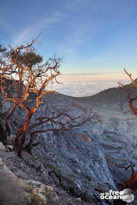 MOUNT IJEN JAVA INDONESIA