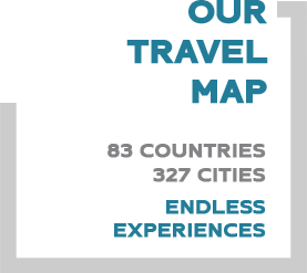 OUR TRAVEL MAP