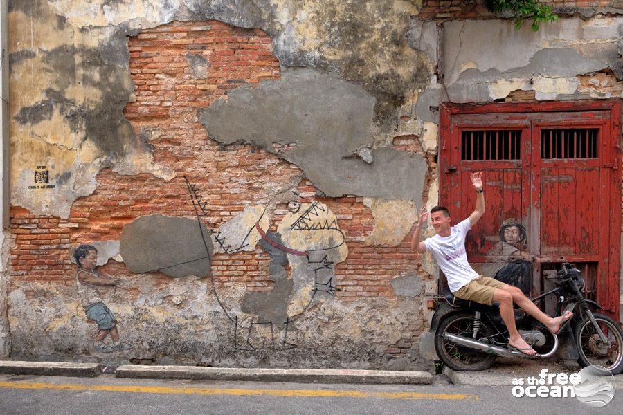 PENANG MALAYSIA STREET ART GEORGETOWN