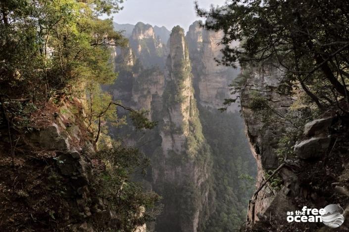 ZHANGJIANJIE NATIONAL PARK CHINA