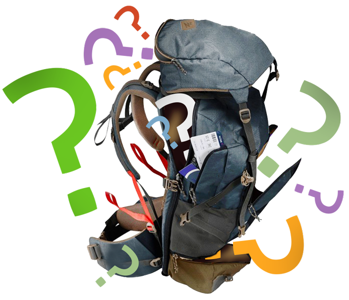 BACKPACK QUESTION MARK MOBILE